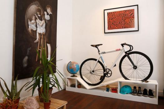 unique bookcases creative bookshelves books design bike rack multifunctional