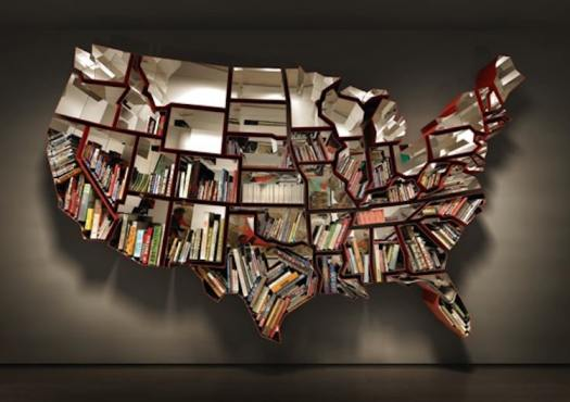 unique bookcases creative bookshelves books design united states of america usa
