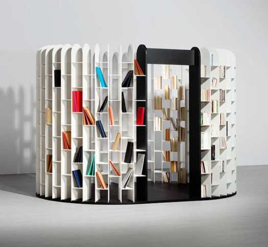 unique bookcases creative bookshelves books design nook