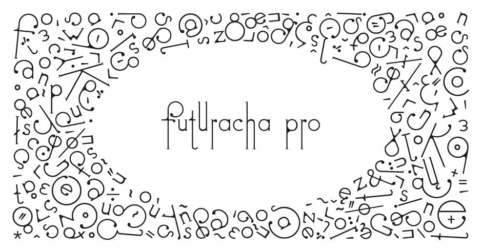 Futuracha Pro is a New Font That Changes Shape as You Type