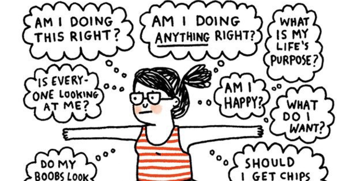 Charmingly Relatable Mental Health Comics Destigmatize