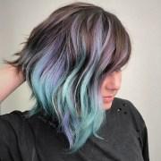 geode hair trends dazzling