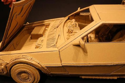 Amazon Cardboard Box Art Monami Ohno
