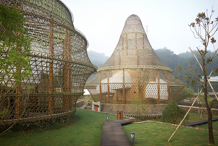 Incredible Bamboo Architecture In Baoxi China Due To Bamboo