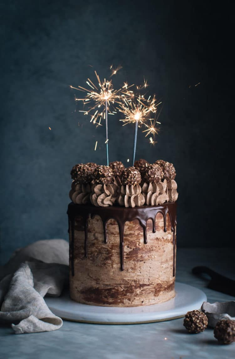 Overflowing with Edible Beauty Feast Your Eyes on a Creative Drip Cake