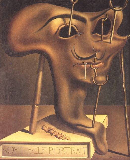 Famous Self-Portraits Art History Salvador Dali Famous Self Portraits