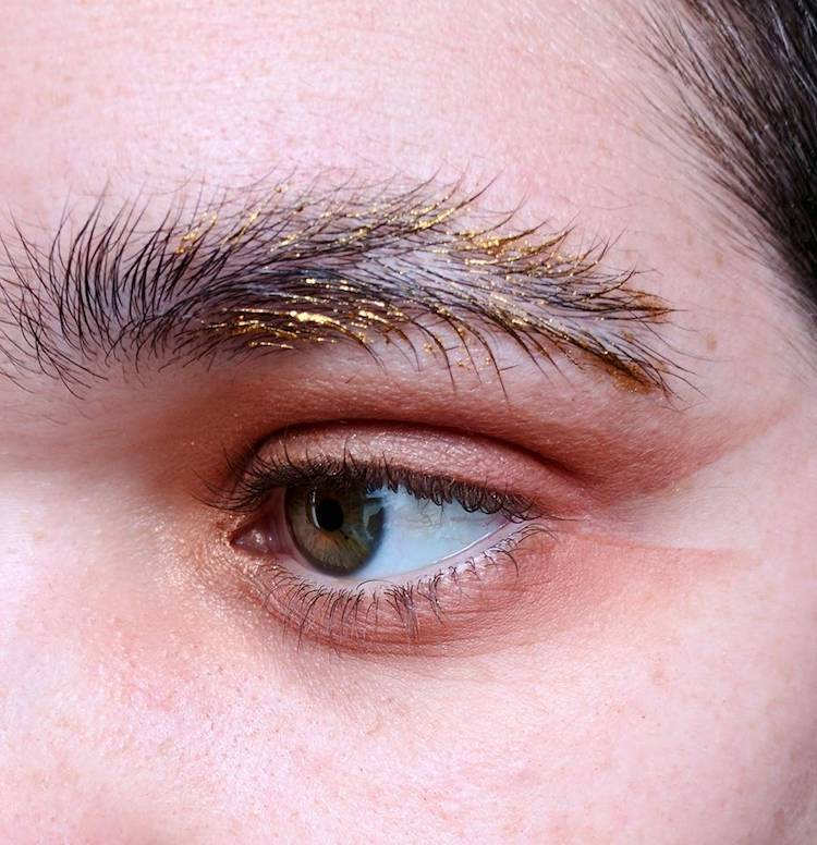 Feather Brows Trend Makes Eyebrows Look Like Catepillars