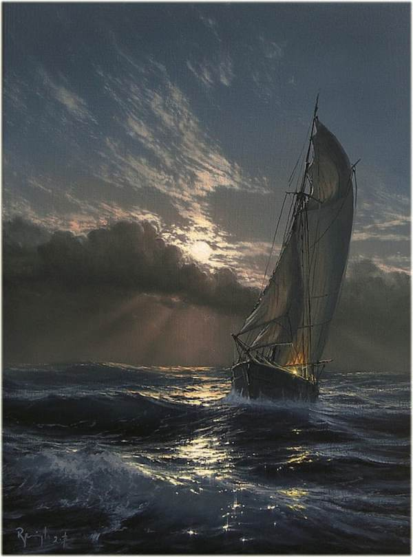 seascape paintings pay homage