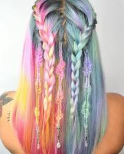 unicorn hair trend fantastical