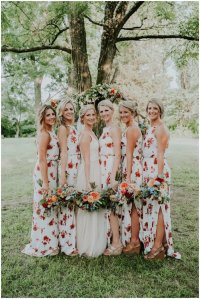 Floral Bridesmaid Dresses are the Latest Trend in Wedding ...