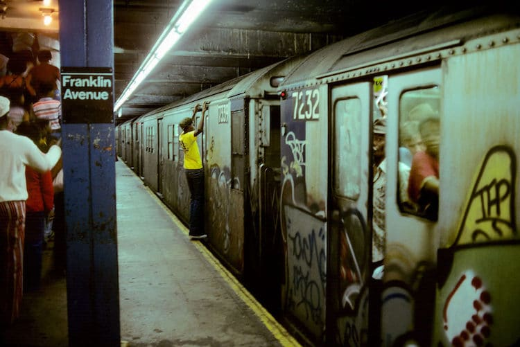 Willy Spiller new york subway photos