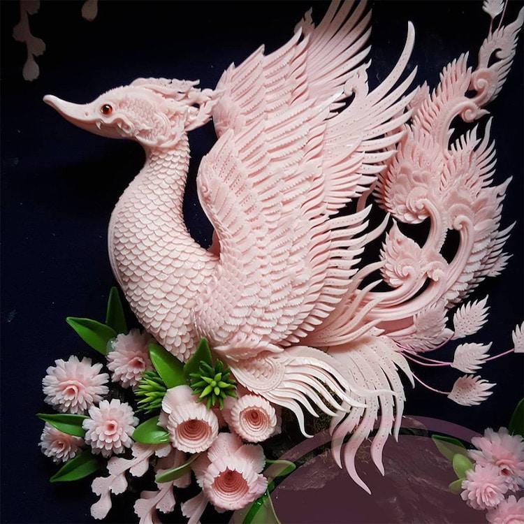 Narong carved soap