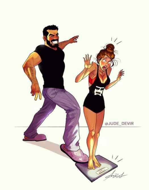 Relationship Comics Yehuda Adi Devir Illustration