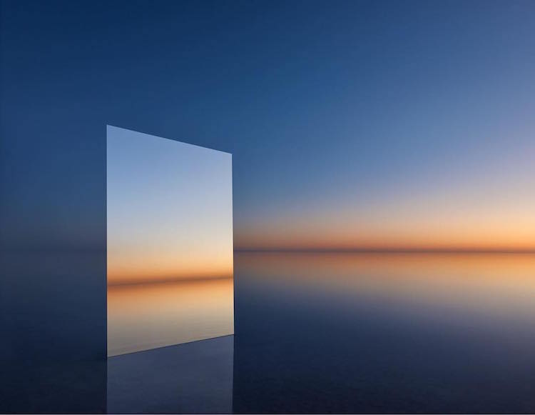 Salt Vanity Series by Murray Fredericks Plays with Perspective