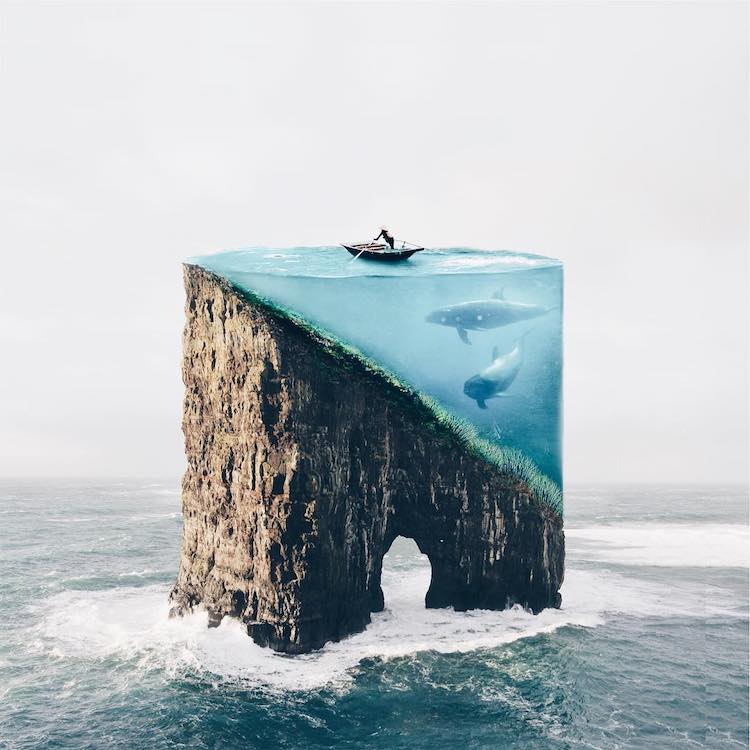 surreal photography composite photos offer unique take on surrealism