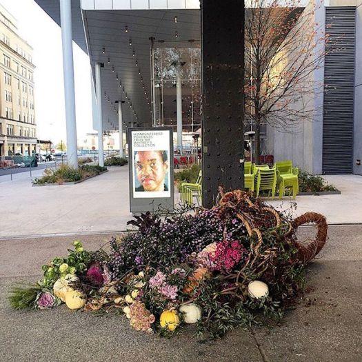 Trash Can Flower Vase Trash Can Flowers Trash Can Vase Flower Flashes Lewis Miller Design