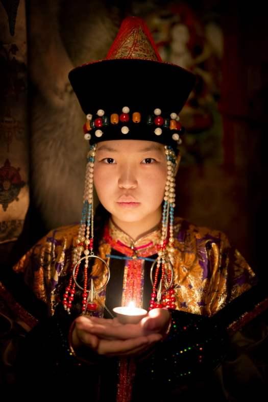 buryat people traditional clothing