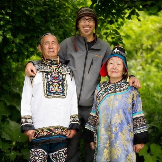 nanai people siberia Alexander Khimushin