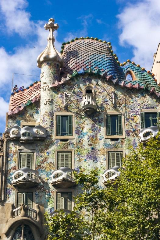 Casa Battlo - Antoni Gaudi architecture