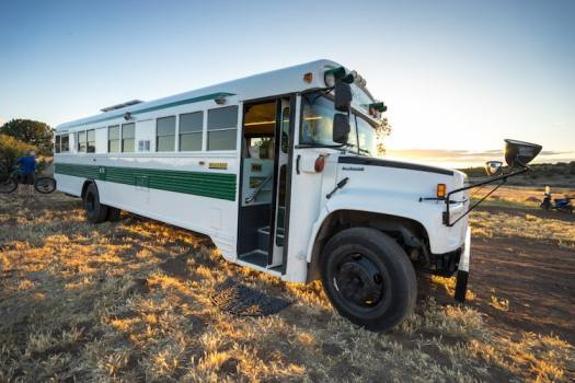 Converted School Bus
