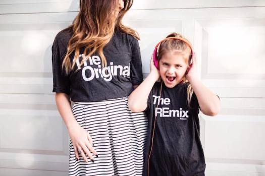 The Original and The Remix Family T-Shirts Funny T-Shirts Clever T-Shirts KaAn's Designs
