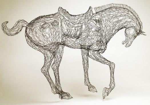 Wire Sculpture by Elizabeth Berrien