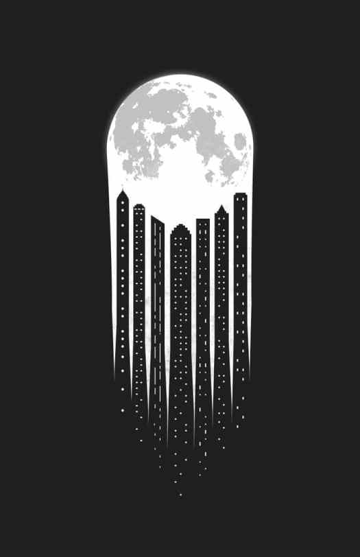 Negative Space Drawing by Adil Siddiqui