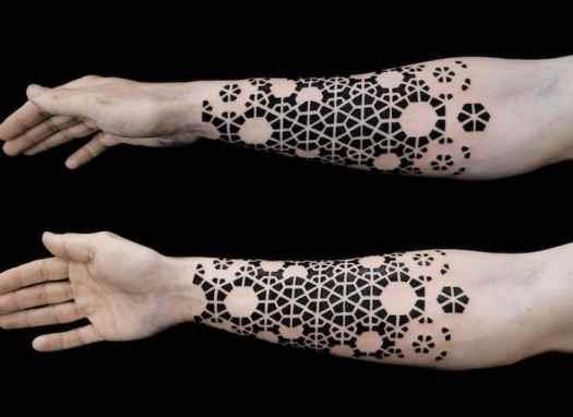 Negative Space Art Negative Space Tattoos