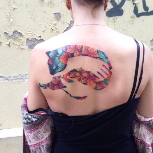Negative Space Tattoo Martynas Šnioka