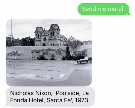 Send Me SFMOMA San Francisco Museum of Modern Art Text Message Art