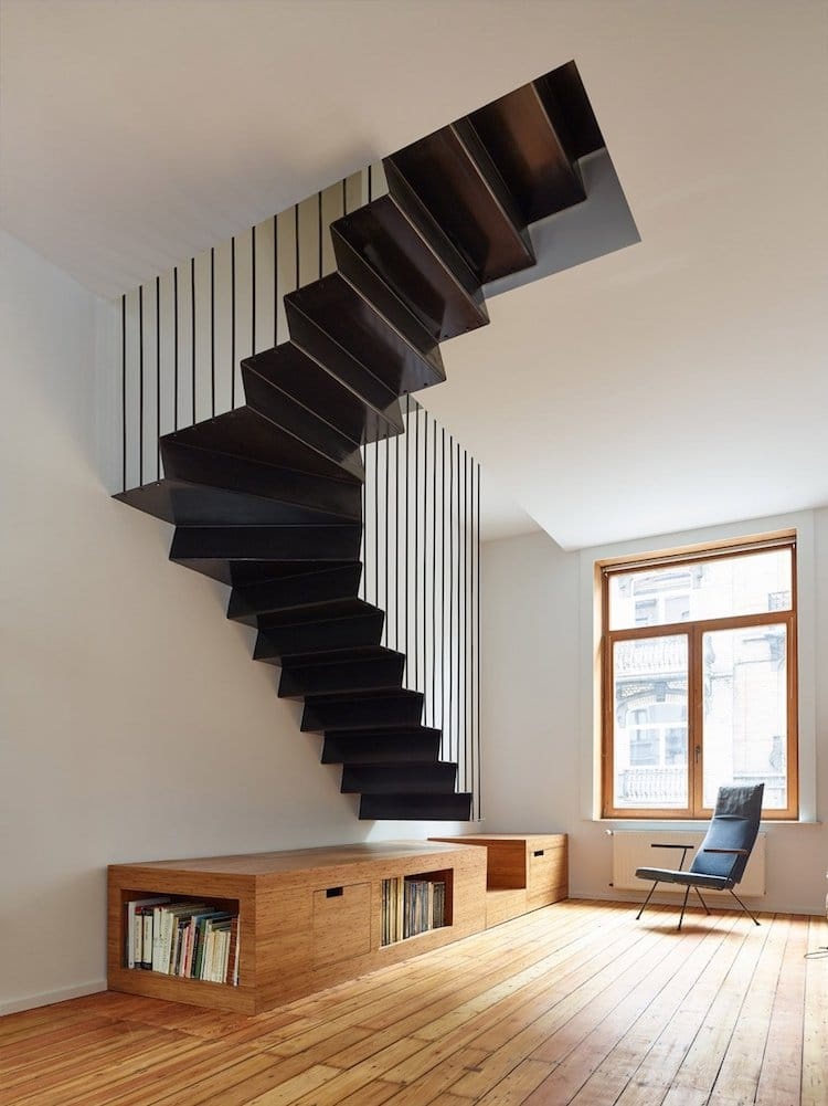 25+ Examples of Modern Stair Design That are a Step Above