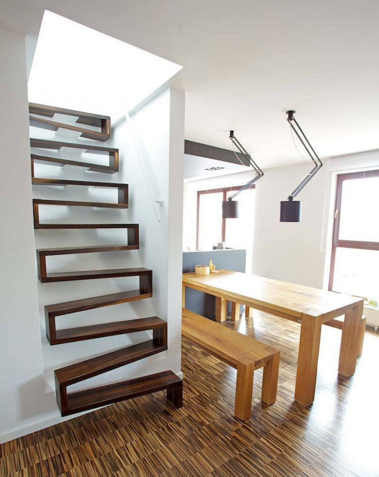 30 Examples Of Modern Stair Design That Are A Step Above The Rest   Steps Design Inside Home   Stunning   Hidden   Sala   Family House   Interior Staircase Simple