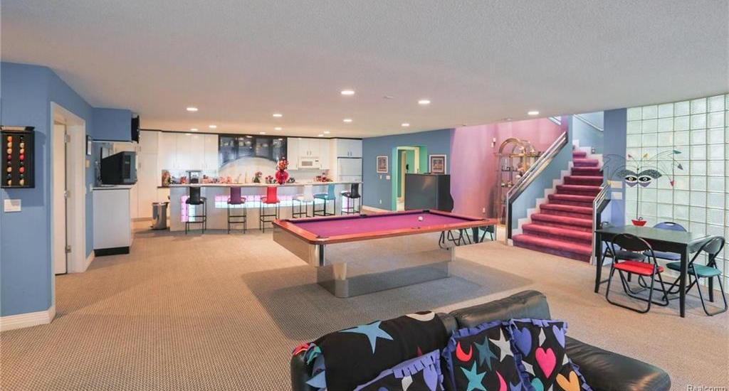 Time Capsule House Features Colorful 90s Interior Design