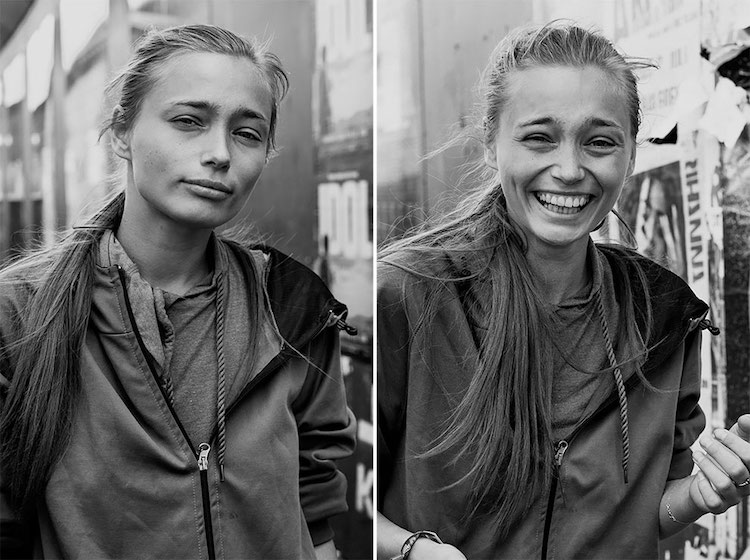 Before and After Kissing a Stranger Johanna Siring Portraits Photography