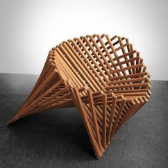 Modern Folding Chair Office Comfort Accessories Robert Van Embricqs Creates Rising Furniture Inspired By Nature