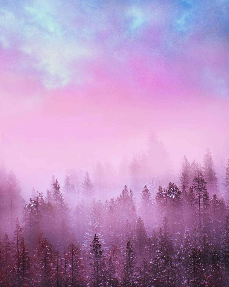 Girl Wallpaper Free Down Interview Colorful Landscape Photography By Ty Newcomb