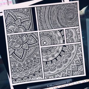 zentangle patterns drawings easy drawing zentangles calming learn mymodernmet coloring creative zentagle method arellano alondra fill routine books way