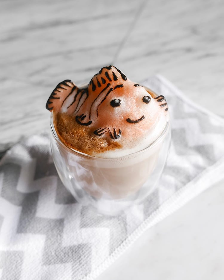 SelfTaught 17YearOld Whips Up Adorable 3D Latte Art