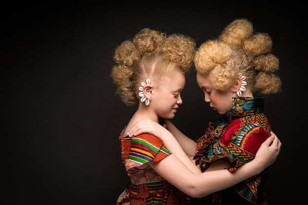 Black Woman Natural Afro Hair Art