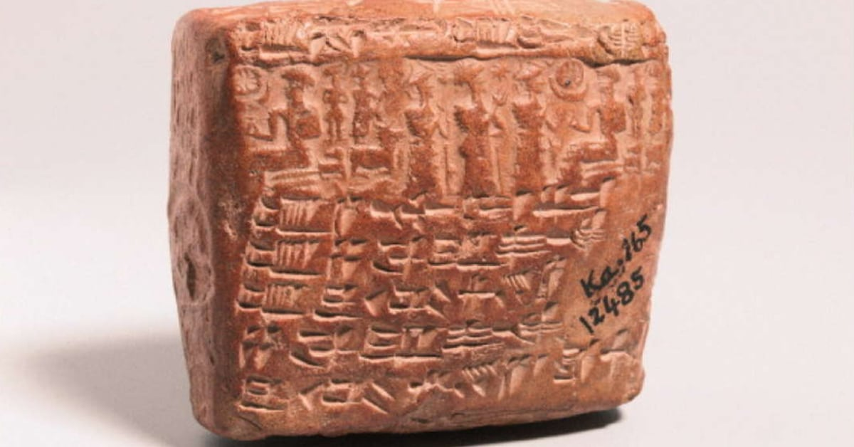 4 000 Year Old Assyrian Tablet Is An Ancient Prenuptial
