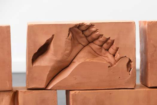 Red Clay Brick Site Specific Installation by Dan Stockholm