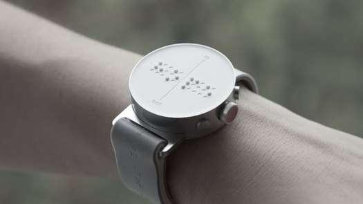 innovative design dot smartwatch