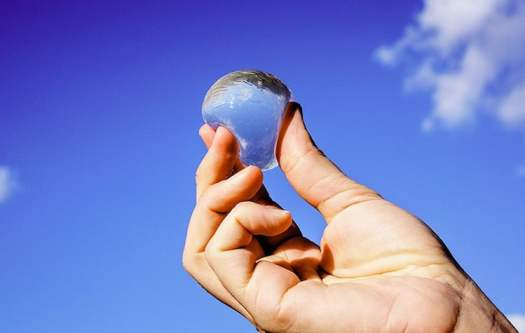 innovative design ooho edible water bubbles