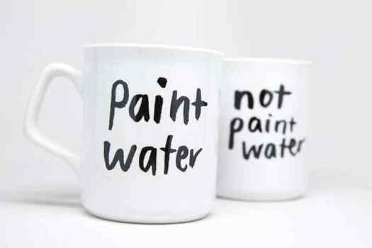 Paint Not Paint Mugs are Funny Coffee Mugs