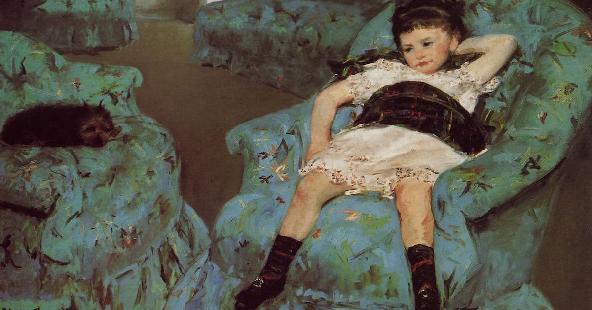 Mary Cassatt Biography Presents Famous Female Painters