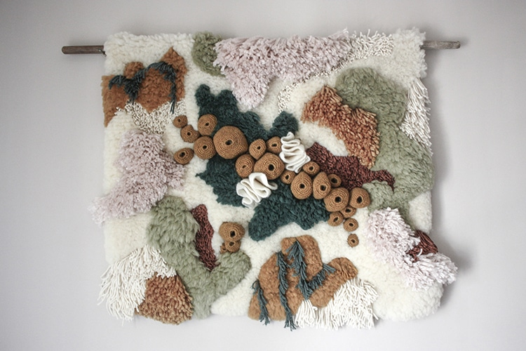 Textile Art Captures the Beauty of Our Worlds Coral Reef