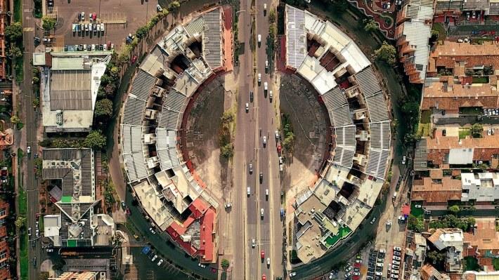 Drone Photography of Bogota