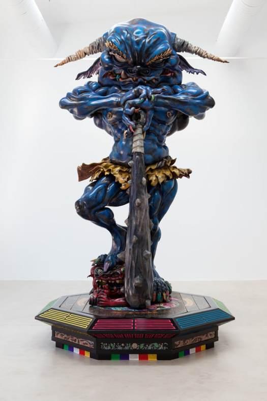 Takashi Murakami sculpture