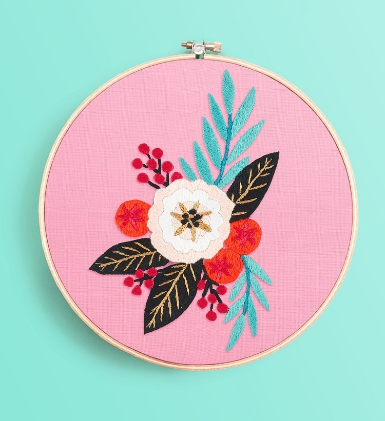 15 embroidery patterns that