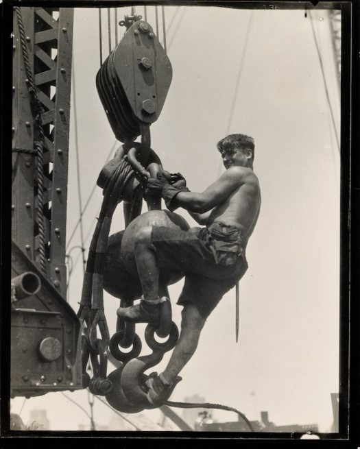 Lewis Hine Empire State Building
